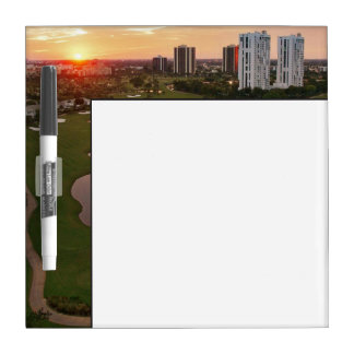 Country Club at sunset, Aventura, Florida Dry Erase Whiteboards