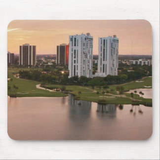 Country Club at sunset, Aventura, Florida Mouse Pad