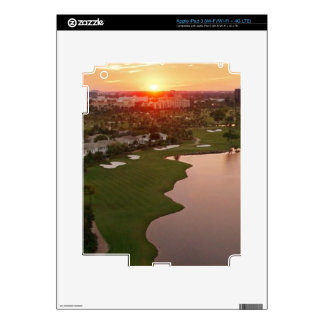 Country Club at sunset, Aventura, Florida Skins For iPad 3