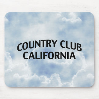 Country Club California Mouse Pad