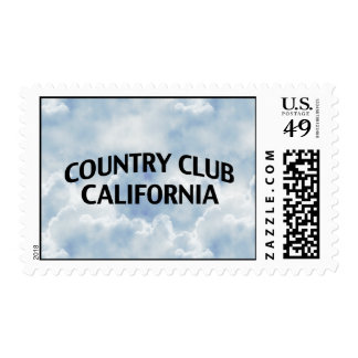 Country Club California Postage Stamps