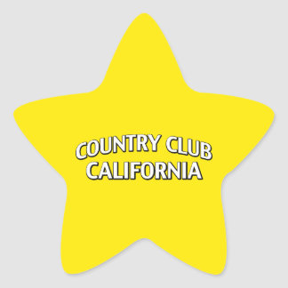 Country Club California Stickers