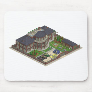 Country Club Mouse Pad