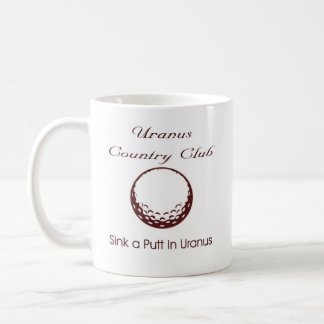 Country Club Classic White Coffee Mug