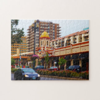 Country Club Plaza 47th Street Kansas City Jigsaw Puzzle
