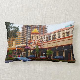 Country Club Plaza 47th Street Kansas City Throw Pillow