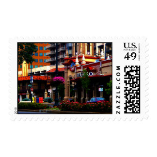 Country Club Plaza Shopping Card and stamp