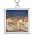 Country Club Plaza Square Pendant Necklace