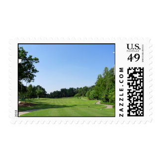 Country Club Postage Stamp