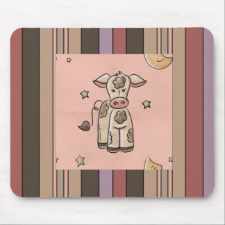 Country Collection Cow Stripes Mousepad