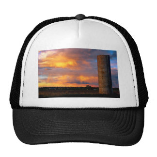 Country Coloful Sunset Trucker Hat