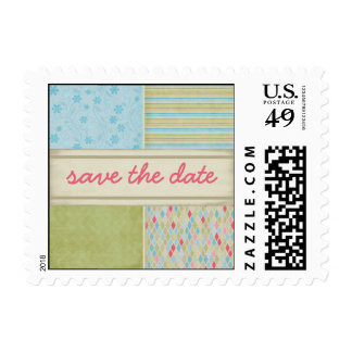 Country Combo Save the Date Stamp