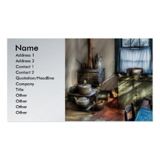 Country Cook - Old fashioned kitchen Business Card Templates