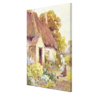 Country Cottage Canvas Print