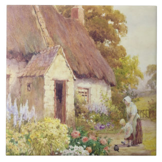 Country Cottage Ceramic Tile