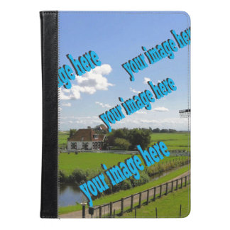 Country Cottage Create Your Own Photo Template iPad Air Case