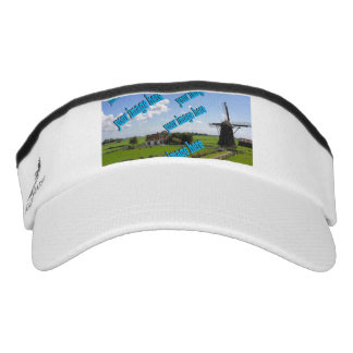 Country Cottage Create Your Own Photo Template Visor