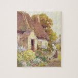 "Country Cottage Jigsaw Puzzle<br><div class=""desc"">Image:26425  Country Cottage. Fisher,  Joshua (b.1859 fl.1918). Victoria &amp; Albert Museum,  London,  UK.  Art,  Fine Art.</div>"