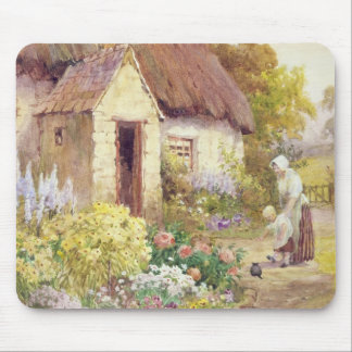 Country Cottage Mouse Pad