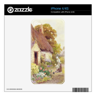 Country Cottage Decals For iPhone 4