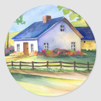 Country Cottage Stickers