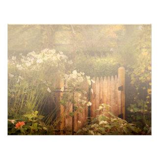 Country - Country autumn garden Letterhead