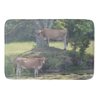 Country Cow Bath Mat