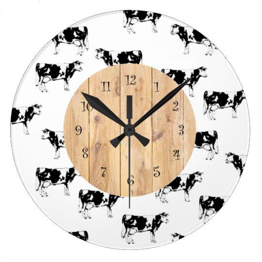 country cow kitchen wall clocks - Kitchen Wall Clocks