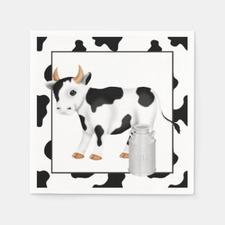 Country Cow Party paper napkins