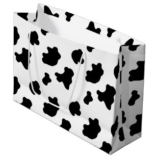 Country Cow pattern larg gift bag Large Gift Bag