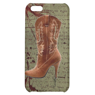 Country Cowboy Boots Western Wedding Favor iPhone 5C Cases