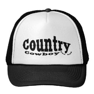 Country Cowboy Trucker Hat
