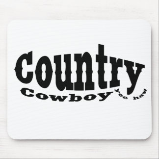 Country Cowboy Mousepads