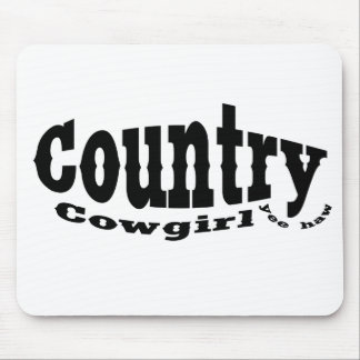Country Cowgirl Mousepad