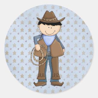 Country Cowpoke Cowboy Fun Stickers