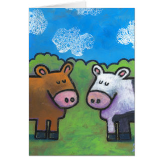 Country Cows Card