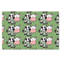 country cows tissue paper
