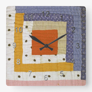 Country Craft Square Wallclock
