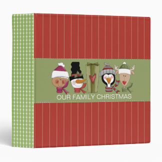 Country Critters Holiday Binder