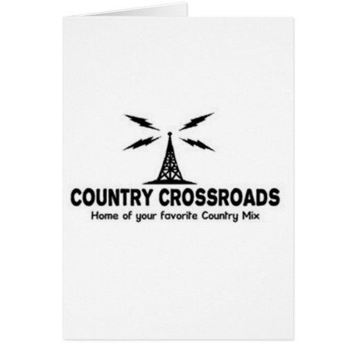 Country Crossroads Greeting Card