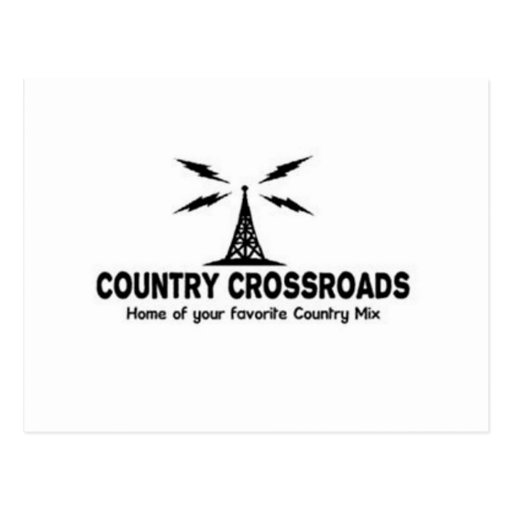 Country Crossroads Post Cards
