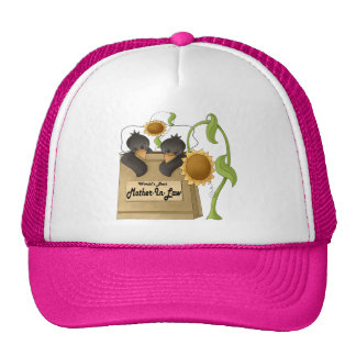 Country Crow Mother-In-Law Mothers Day Gifts Trucker Hat