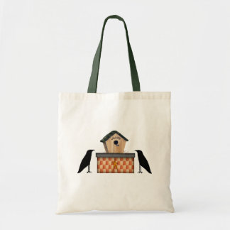 Country Crows Tote Bag