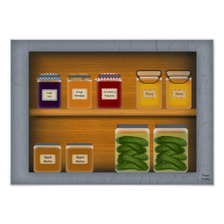 Country Cupboard Poster