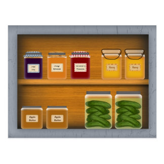 Country Cupboard Recipe Card