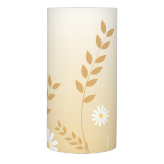 Country Daisies LED candle