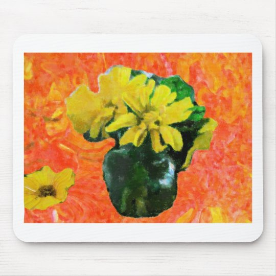 Country Daisies Mouse Pad