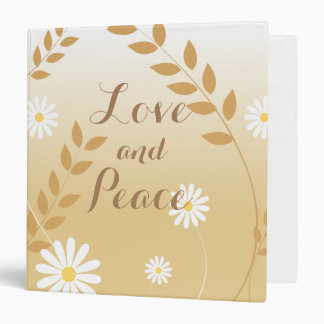 Country Daisies ring binder
