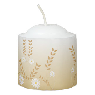 Country Daisies votive candle