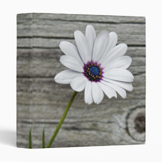 Country Daisy 3 Ring Binder